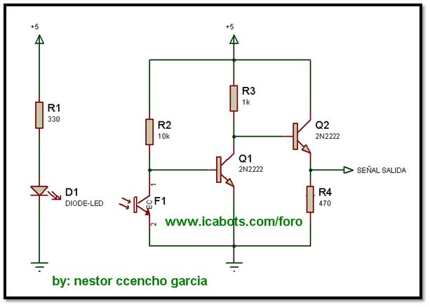 Circuito Emisor Receptor : Ciencias aplicadas y exactas electronica
