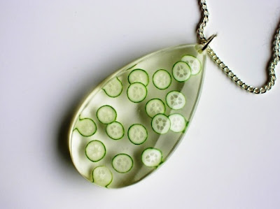 Cucumber necklace