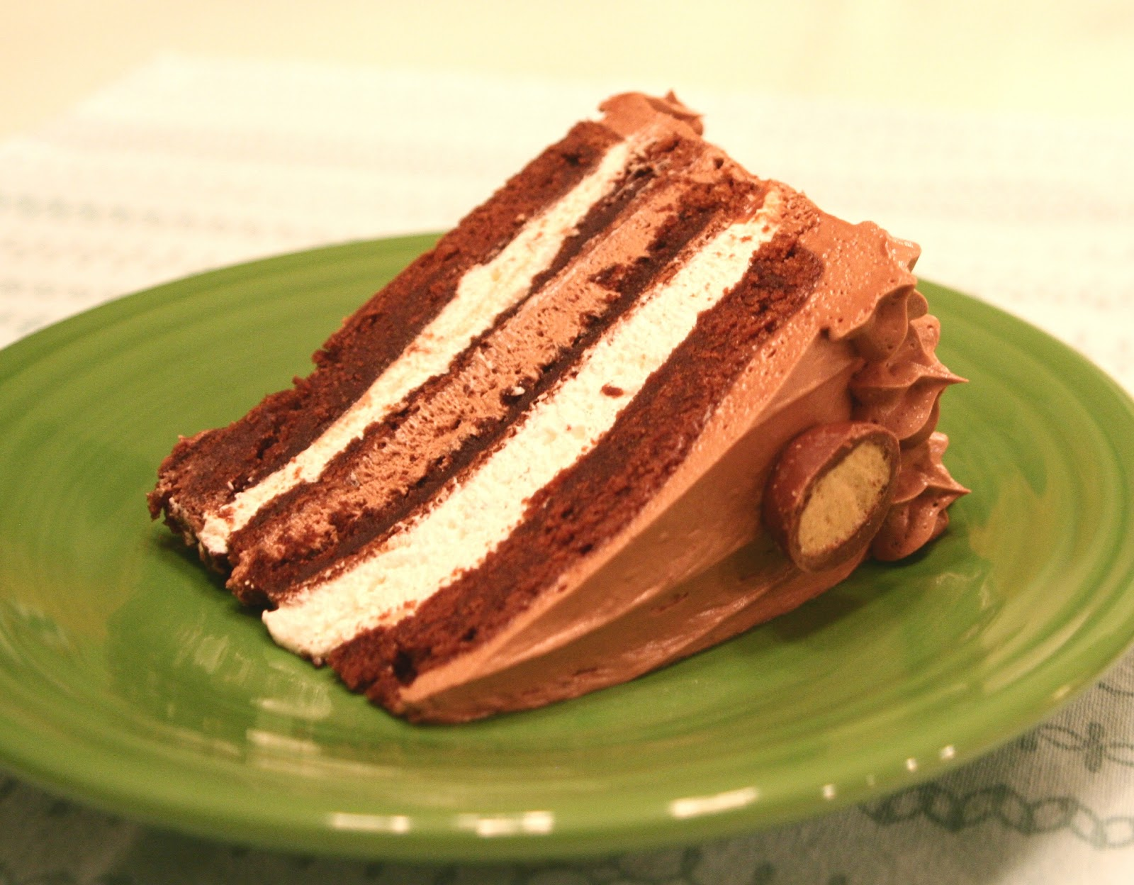 Cooking in Kirkland: Marshmallow & Malt Chocolate Cake