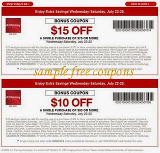 JcPenney Coupons June 2014