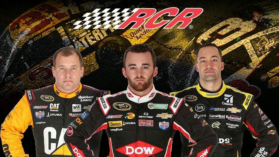Richard Childress Racing = Ryan Newman, Austin Dillon and Paul Menard