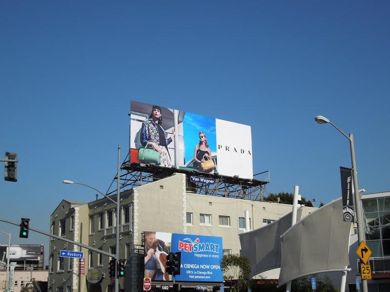 Sunset Strip Prada billboard