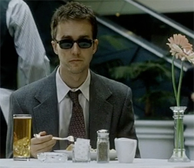 Baltimore Blues; A Tale of Two Made-Men. Edward+norton+fight+club+1999+sunglasses