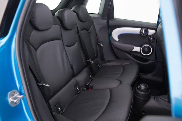 2015 MINI Cooper S four door back seat