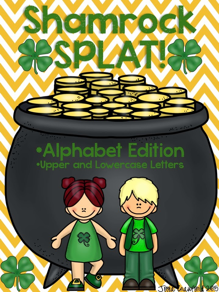 https://www.teacherspayteachers.com/Product/Shamrock-SPLAT-Alphabet-Edition-CCSS-Aligned-1738707
