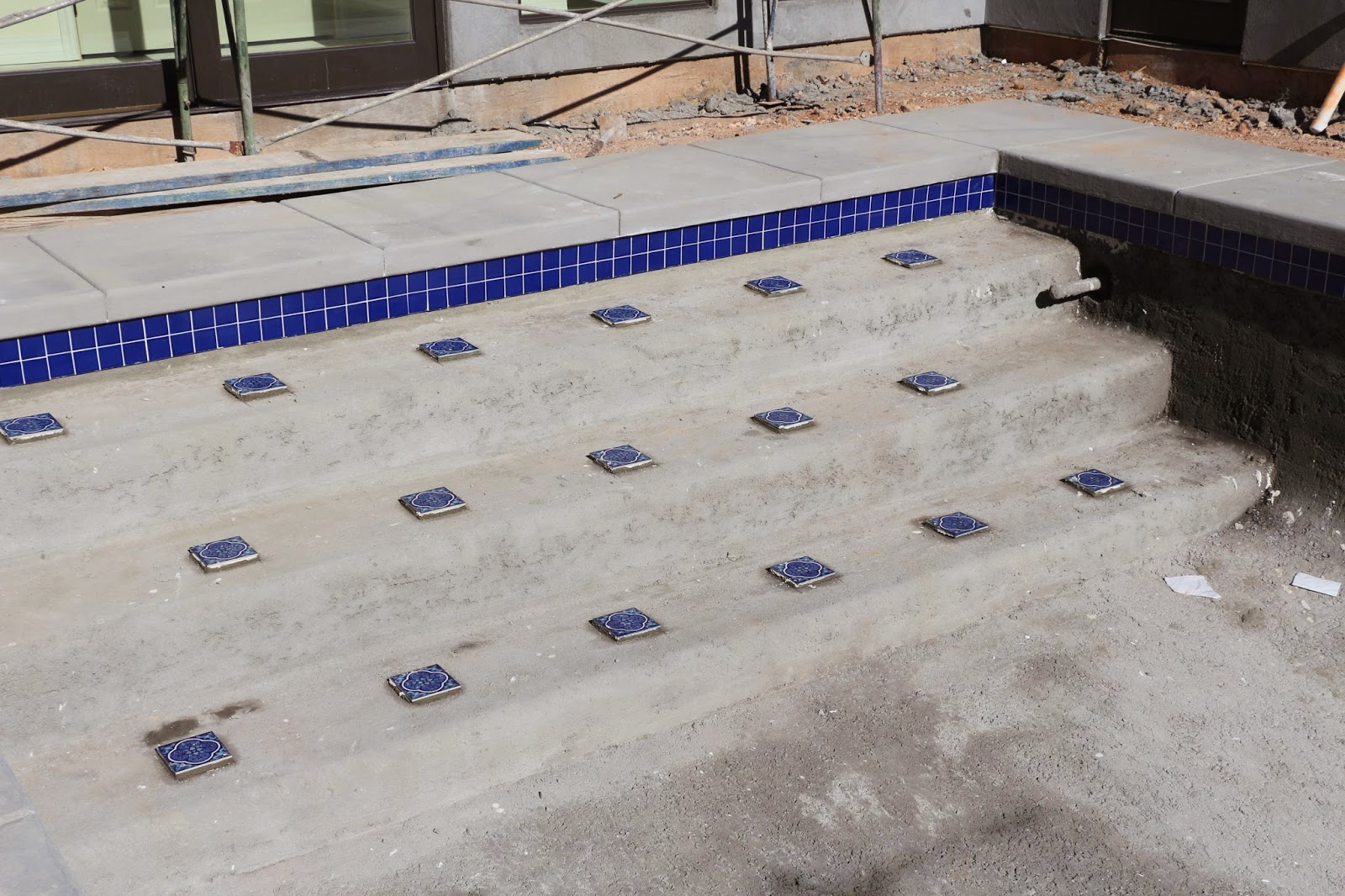 pool tile, national pool tile install