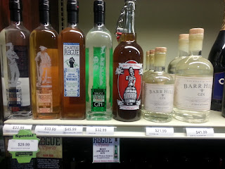 Some craft spirits
