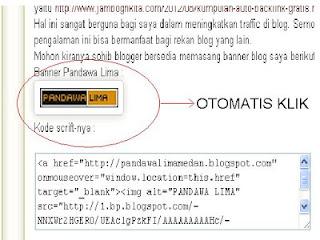"""<a href=""""http://pandawalimamedan.blogspot.com/2012/10/trik-buat-otomatis-klik.html"""" alt=""""Trik Otomatis Klik""""/></a>"""