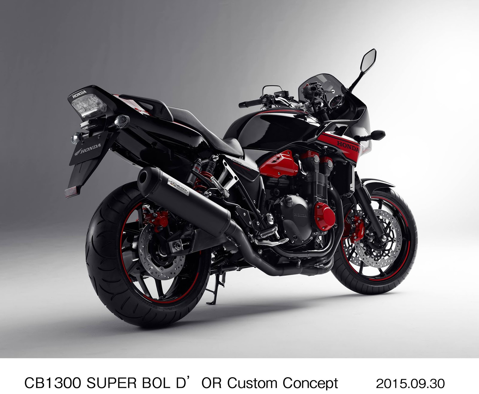 planet japan blog honda cb 1300 super bol d 39 or custom concept tokyo motorcycle show 2015. Black Bedroom Furniture Sets. Home Design Ideas