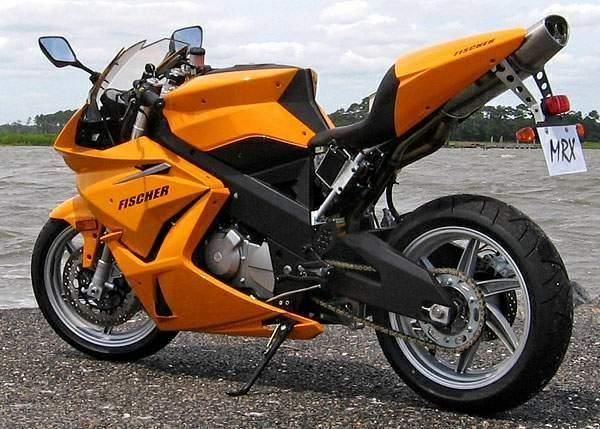 Fischer MRX Motorcycle Rear