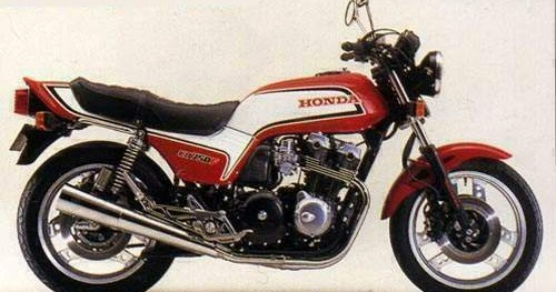 Honda Cb750f Motorcycle Wiring Diagram