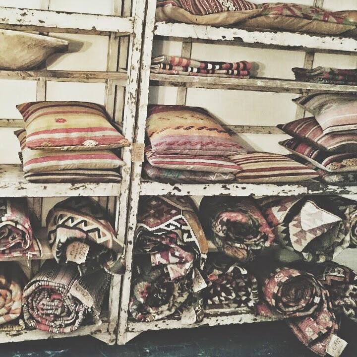kilim decoracion vintage