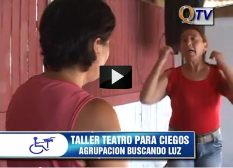 TALLER DE TEATRO PARA PERSONAS CIEGAS EN QUILICURA