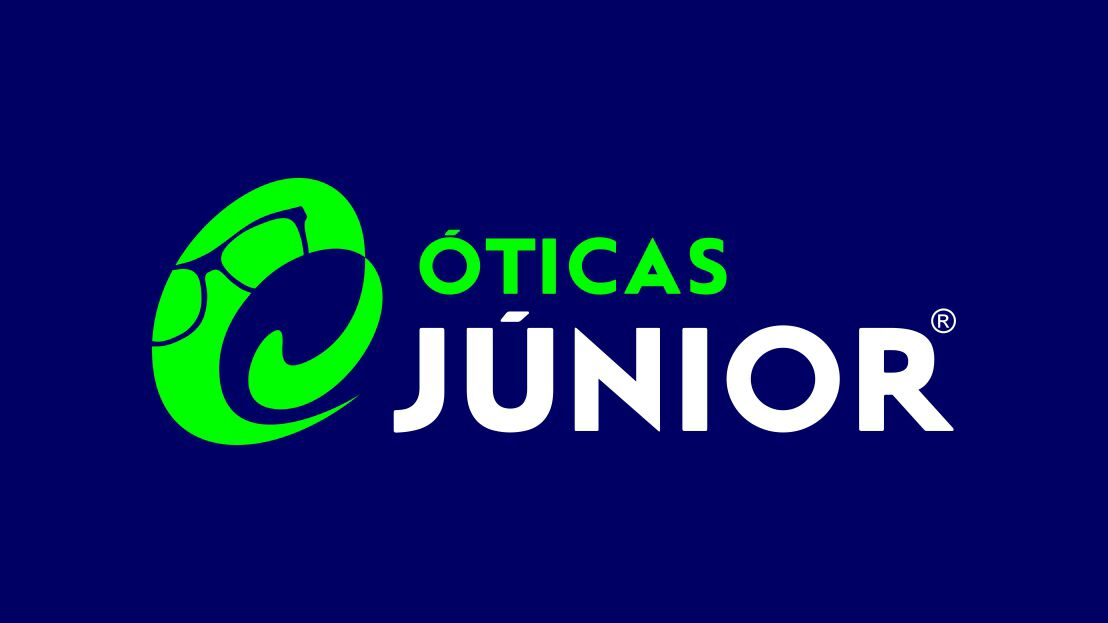 Óticas Junior.