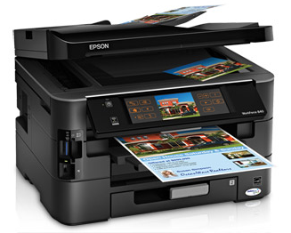Epson Workforce 840 All In One Image