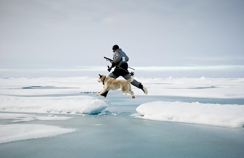 Tara, Arctic Ocean, Põhja-Jäämeri, leaping, hüpe, lead, lahvandus, Audun, Tiksi