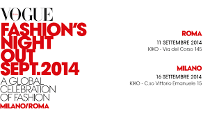 Vogue Fashion Night Out 2014, a Milano il 16 settembre 2014
