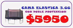 PROMO CAMA ELASTICA DE 3.66 M