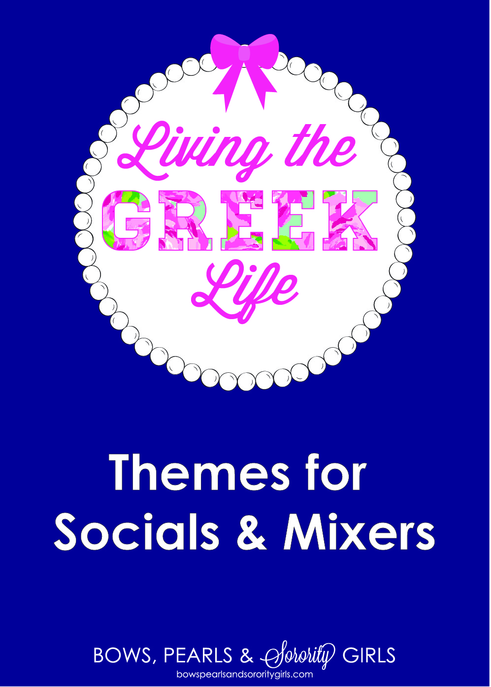 Bows Pearls Amp Sorority Girls Living The Greek Life
