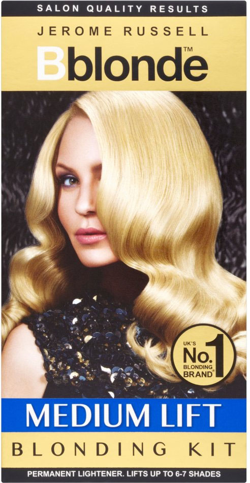 jerome russell Bblonde medium lift blonding kit ombre hair DIY home how to