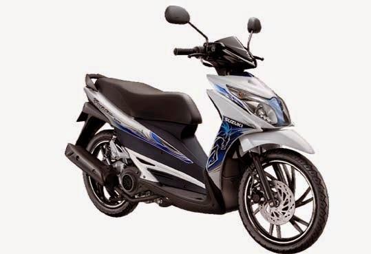 Skutik Suzuki Hayate 125