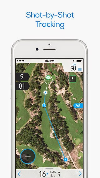 The free golf GPS app known as Hole19 is one of the best