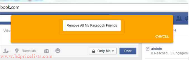 Remove All Facebook Friend's In Just One Click Using Google Chrome Extension Full Tutorial