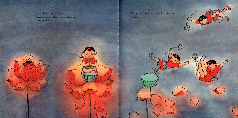 Bilder K Chen çizgili masallar lian by chen jiang hong