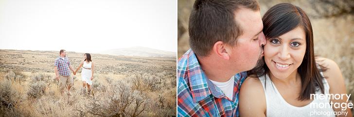 yakima engagement photo cowiche canyon