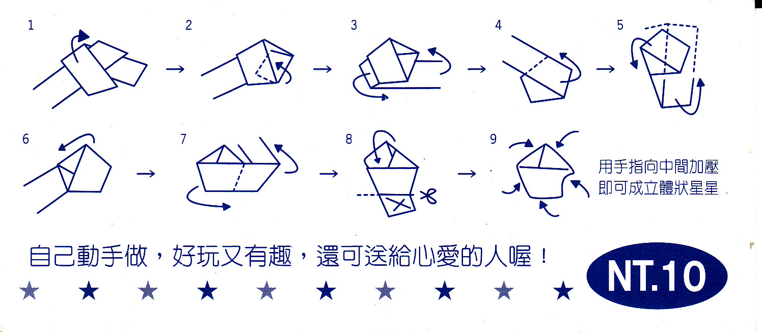 Kayohh lucky star diagram instruction number of stars meaning jeuxipadfo Choice Image