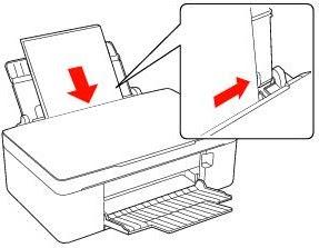 Как правильно расположить бумагу