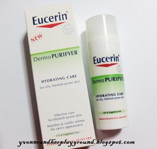 eucerin dermopurifyer review