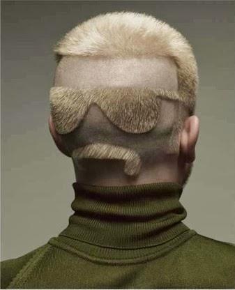 Napszemüveg frizura