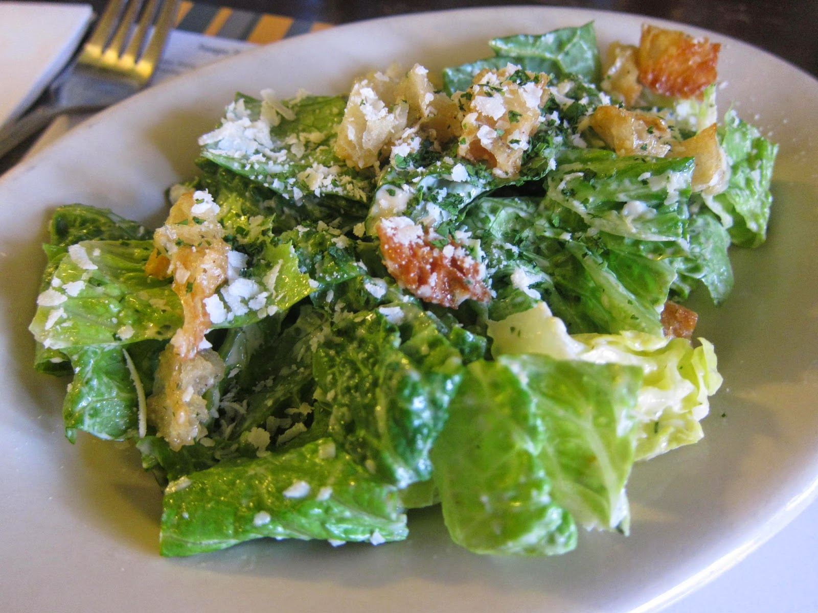 Caesar salad at Kitchen on Common in Belmont, Mass. | The Economical Eater