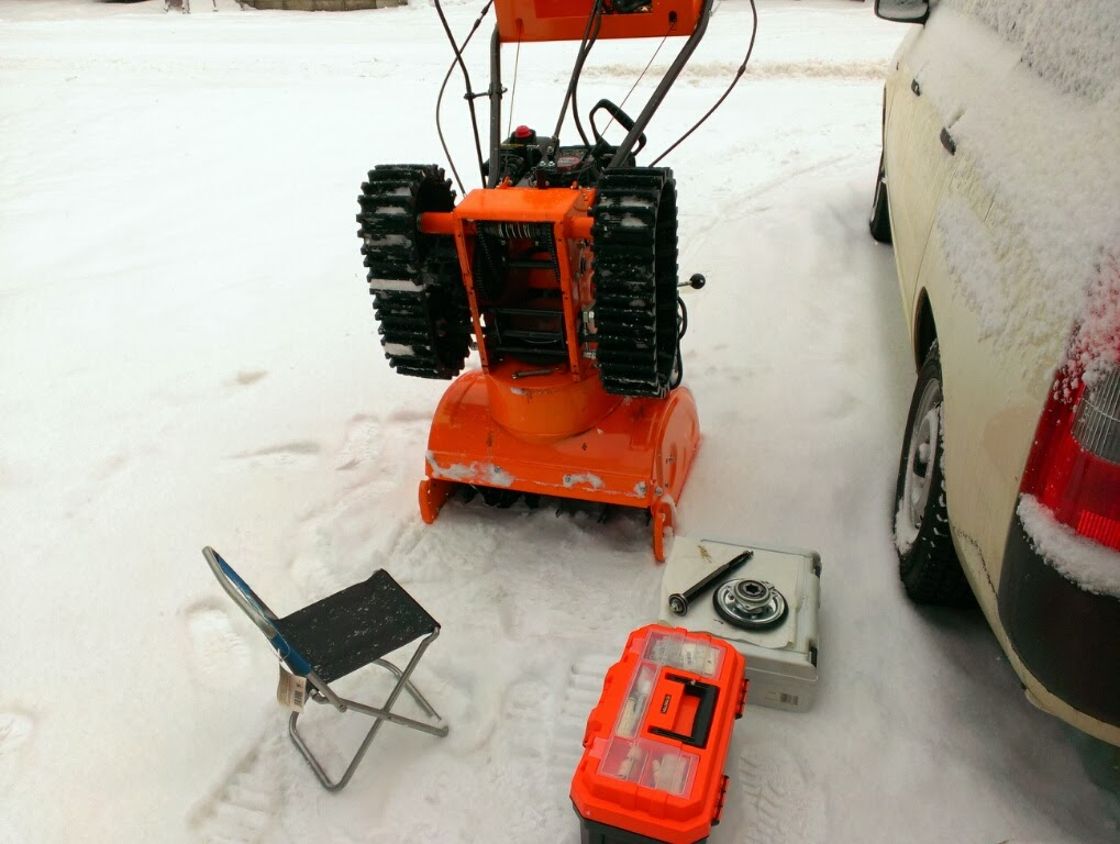 冬を楽しく!中国製除雪機+格安除雪機 運用覚え書き