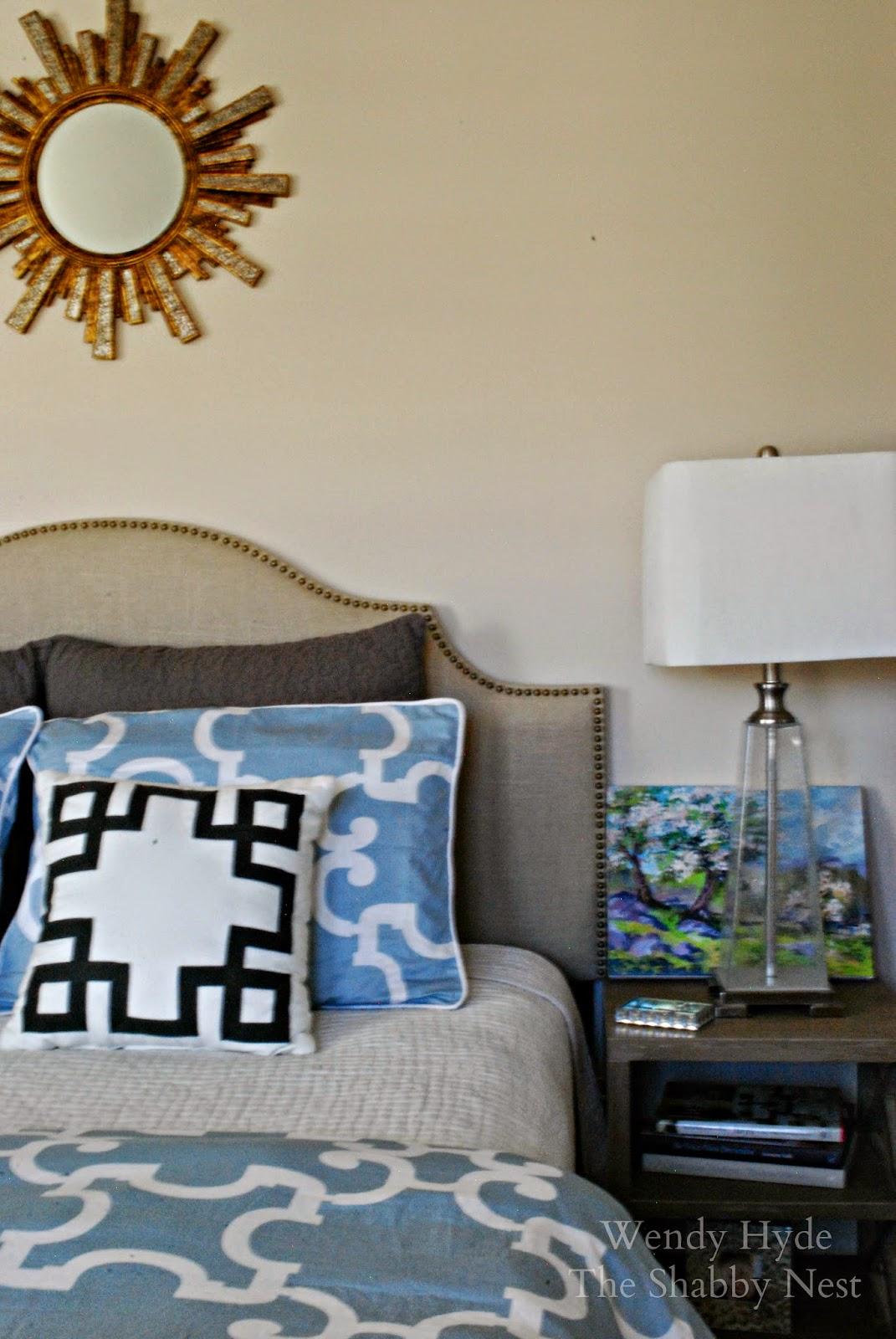 master bedroom spruce up wendy hyde lifestyle. Black Bedroom Furniture Sets. Home Design Ideas