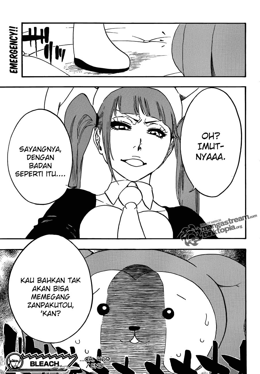 Komik bleach 469 page 19