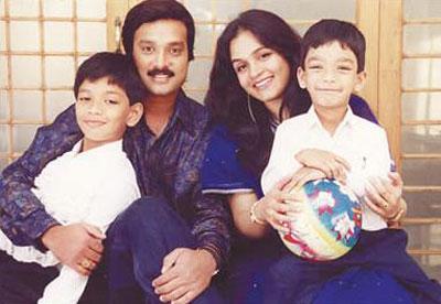 Karthik Family Photos