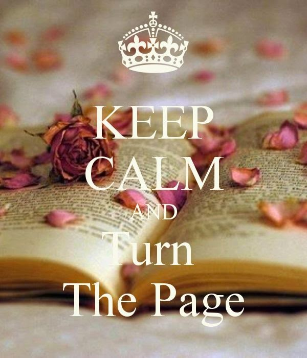 KEEP CALM AND Turn the page