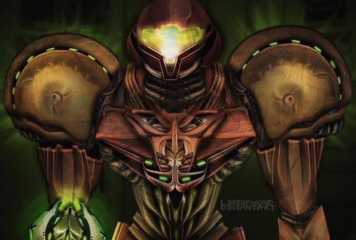 Metroid Concept Suit por LeoDiamond