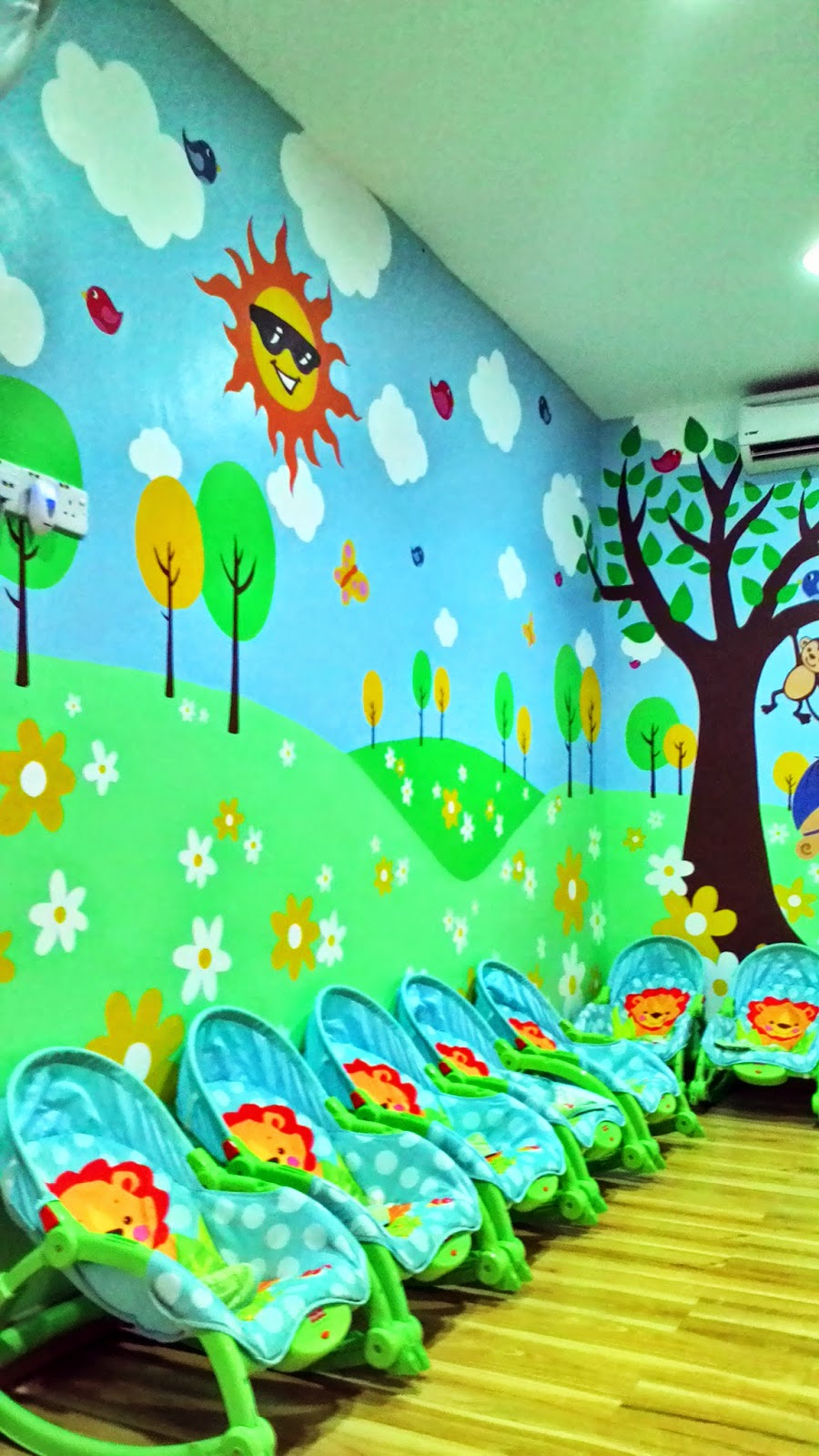 Warna arts mural my kids academy for Mural tadika