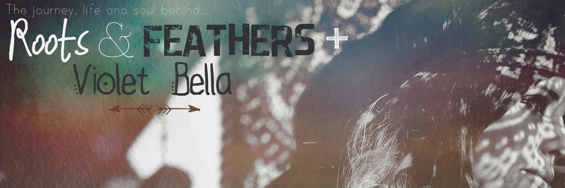 Roots and Feathers // Violet Bella