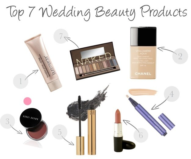 Wedding Day Drugstore Makeup : My Top 5 Beauty Products For Your Wedding Day