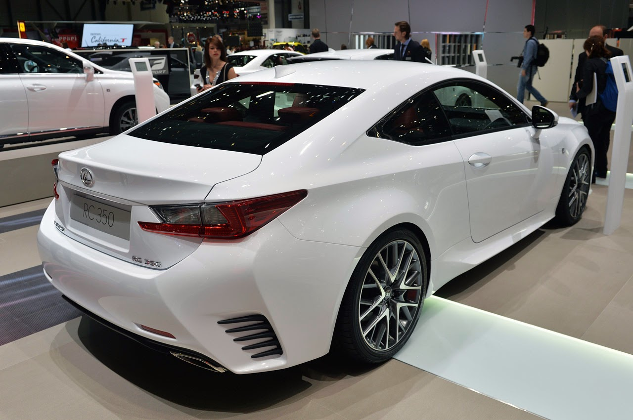 automotiveblogz 2015 lexus rc 350 f sport geneva 2014 photos. Black Bedroom Furniture Sets. Home Design Ideas