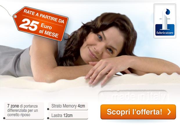 Promo risparmio fabricatore sconto 50 e 2 cuscini omaggio for Materassi fabricatore offerta televisiva