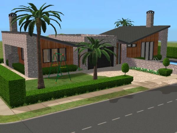 Los sims 3 las mejores casas for Casas modernas sims 4 paso a paso