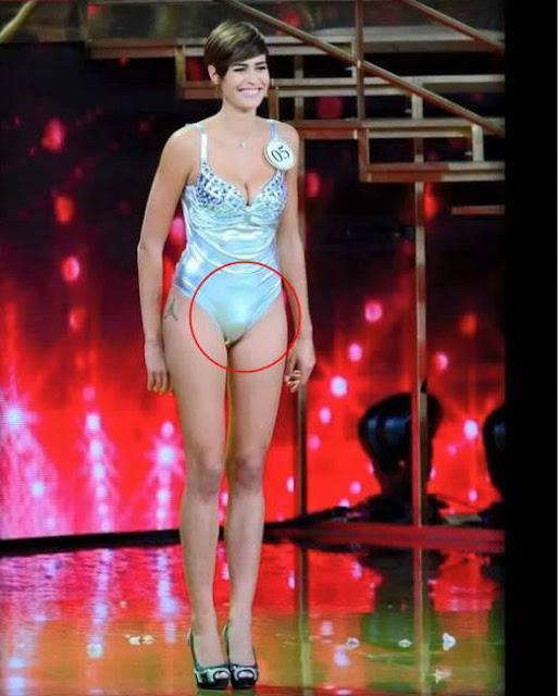 Mistero Miss Italia 2015 é un uomo o una donna?