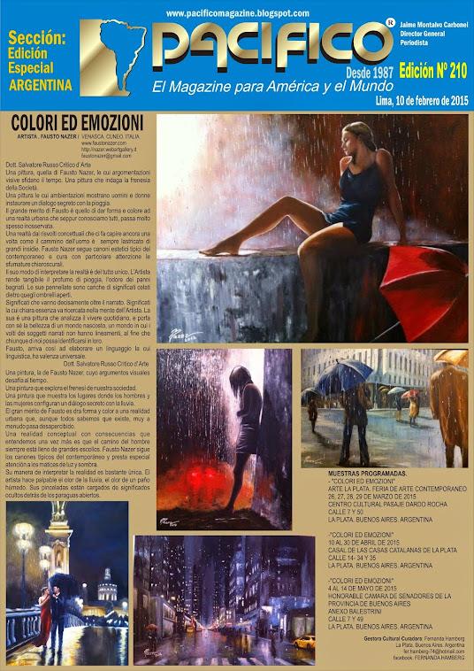 Revista Pacífico Nº 210 Edición Especial Argentina