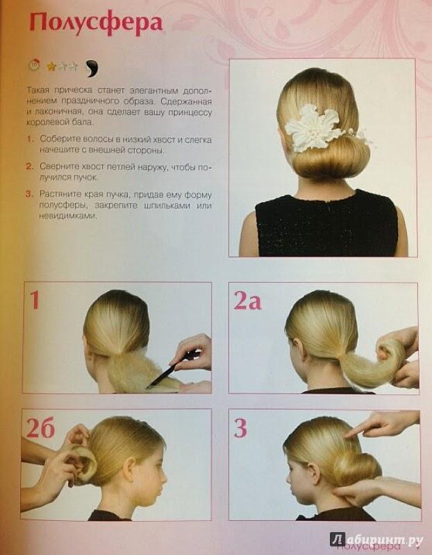 Инструкция по прическам в школу