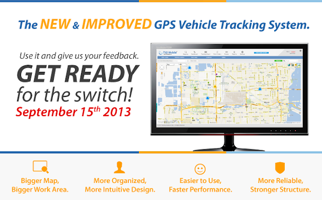 TSO Mobile's New and Improved GPS Vehicle Tracking System